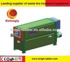 High quality waste tire strip cutting machine