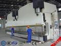 2-WE67K placa de acero hidráulico tándem de flexión de la máquina, Freno de la prensa en tándem