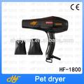 Suministros para mascotas secador de pelo fabricante hf-1800