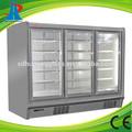 comercial mini refrigerador porta de vidro freezer