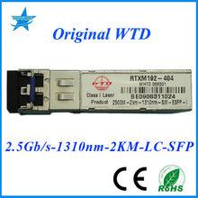 Original WTD RTXM192-404 2550Mbps 1310nm 2Km WTD fiber optic module adss fiber optic cable