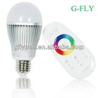 wifi smart led bulb 9w rgbw