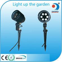 3w 6w 9w 12w outdoor high lumen die casting outdoor led garden light 55w