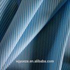 yellow blue white stripe fabric