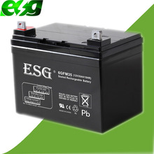 Deep Cycle Solar UPS Battery VRLA Battery 12V 35ah Emergency Battery