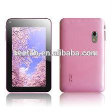 win8 UI 7 inch arm mali-400 3d gpu tablet pc with flash light