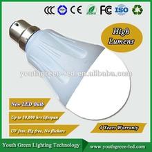Energy Star 5Years Quality Guarantee 4W 5w 6W 7w 8W 9w 10W 12W 15w 18w Indoor LED bulb E27 E26 B22 gu10