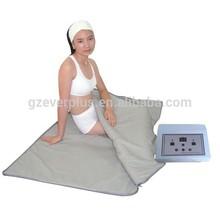 Portable far infrared thermal sauna blanket