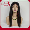 Carina Hair Products Never Shedding No Tangle Dyeable and Bleachable Straight Brazilian Hair Glueless Full Lace Wig