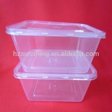 Plastic vacuum food preserve box