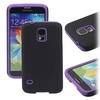 Rubber protective cover for samsung galaxy s5 phone cover,back phone cases