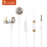 Color 3.5mm Stereo Earphone with Mic for iPhone iPad iPod Headset