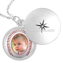 tinplate baseball photo frame