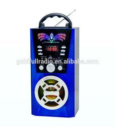 New High Quality Multifunction USB/SD Speaker Portable AM/FM/SW radio