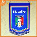 Bandiera italia per la coppa del mondo/appeso bandiera fatta in poliestere/attaccatura di parete bandiera nazionale