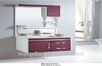 bathroom vanity bathroom furniture modern bathroom cabinet ,mirror and basin