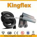 Nbr/pvc élastomère noir de chaleur tube d'isolation en caoutchouc/160mmx80mm de matériaux de construction