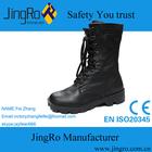 CE EN 20345 high neck leather black industrial secure safety shoes for men