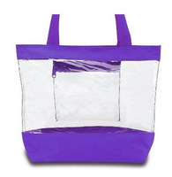simple designer clear tote bags