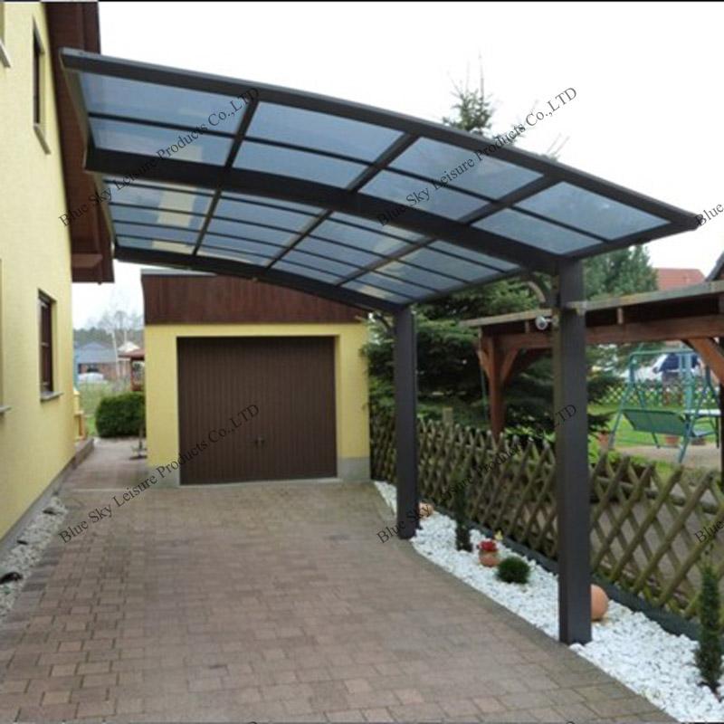 Policarbonato exterior para techos de almacenamiento de for Modelos techos para garage