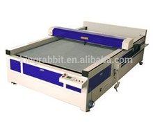 Double heads CO2 laser HX-2030 automatic fabric cutting machine
