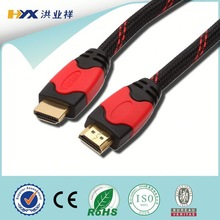 High speed hdmi 1.4 cable with ferrite cores for 4K*2K