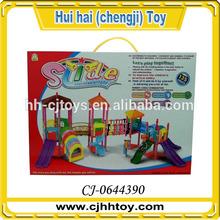 Happy time play fairground house toys set