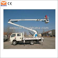sky boom lift truck