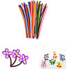Colorful Chenille Stem Classpack /wire pipe cleaner with low price