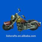 New style resin motorbike model