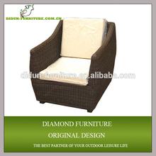 stylish living room single sofa ottoman