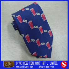 Wholesale Silk Print Tie for Men Shirt