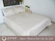 white hotel cotton wholesale hot saling bedsheet
