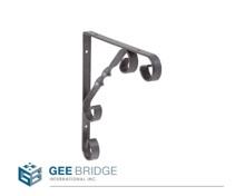 1202512 Steel Decorative Wall Shelf Support Bracket