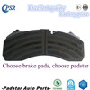 Used iveco truck parts Mercedes bus parts Man/Daf truck parts Chinese brake pad 29059 with damped coating