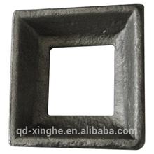 Custom wrought iron ornamental accessory