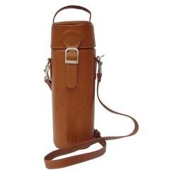 Piel Leather Single Deluxe Wine Carrier