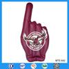 Custom logo printed professional finger inflatable hand