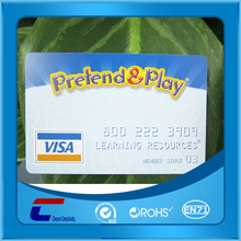blank virtual prepaid pvc visa credit debit card printing