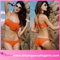 moda toptan son saçaklı bandeau bikini seti turuncu tam seksi fotoğrafları çıplak kızlar