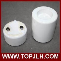 Beautiful Ceramic Candle Holder for DIY Printing