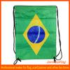 nylon world cup Brazil drawstring bag