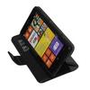 Wallet flip leather case for Nokia Lumia 620