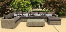 popular high-end patio furniture model 0353 5mm ROUND rattan