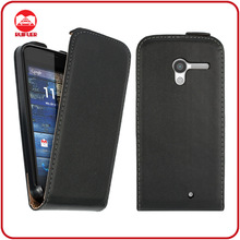 RF Manufacturer Ultra Slim Premium Leather Vertical Magnetic Flip Phone Case for Motorola Moto x
