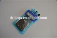 mobile phone durable lanyard pvc waterproof bag for iphone