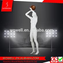 American muscle vivid pose male basketball model