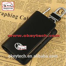 Okeytech leather key holder wallet for toyota car key wallet