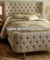 Modern estilo francês estofado cama queen size mobília do quarto e mobiliário do hotel ojc-005