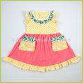2014 nuevos diseños campesino baby girl traje